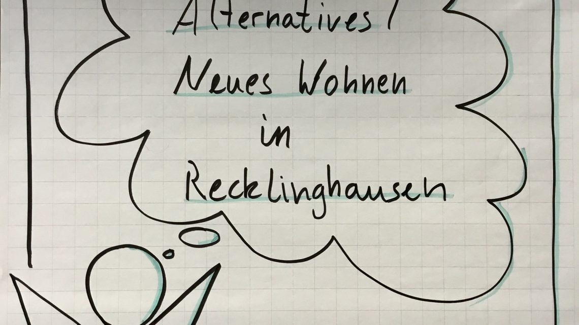 "1. Treffen ""Alternatives Wohnen"" in Recklinghausen"